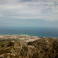 Photo taken at Calamorro Mountain by Liliana S. on 4/25/2015