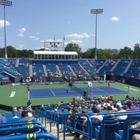 Photo taken at Connecticut Tennis Center by Claudio S. on 8/26/2017
