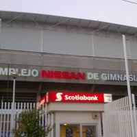 Photo taken at Complejo Nissan de Gimnasia by Kiyoshi K. on 11/18/2012