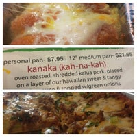 Photo taken at Da Big Kahuna Pizza-n-Stuffs by Sandra on 4/17/2013