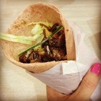 Photo taken at Fireshack Shawarma by Nika Tijing on 3/15/2013
