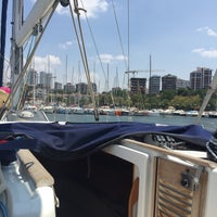 Photo taken at A&G Sailing Course by Gülşah Y. on 7/25/2016