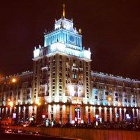 Photo taken at Triumfalnaya Square by Alexander K. on 11/27/2012