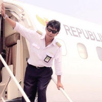 Photo taken at Pondok Cabe Airport (PCB) by Pinky F. on 4/20/2016