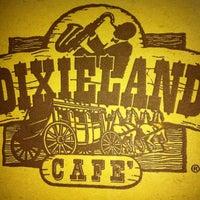 Photo taken at Dixieland Café by Simone R. on 4/21/2013