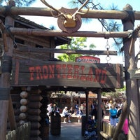 Photo taken at Frontierland by Marshall W. on 3/15/2013
