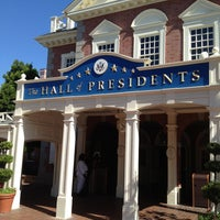 Photo taken at The Hall Of Presidents by Marshall W. on 3/15/2013