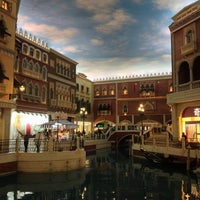 Photo taken at The Venetian Macao by Vitaly K. on 1/15/2013