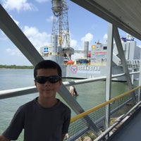 Photo taken at Ocean Star Offshore Drilling Rig & Museum by Jeffery O. on 7/9/2015