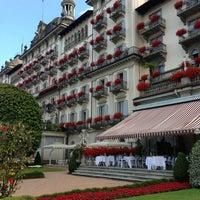 Foto scattata a Grand Hotel Des Iles Borromees Stresa da Alice ✨ D. il 7/3/2013