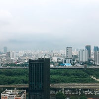 Photo taken at Thanapoom Tower by Theerapat Y. on 10/5/2016
