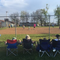 Photo taken at Christenberry Field by Jeff D. on 3/31/2015