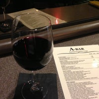 Photo taken at A-Bar Wine & Beer Lounge by Shelley H. on 3/17/2013