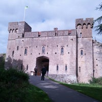 Photo taken at Caldicot Castle by Nicholas M. on 9/18/2013