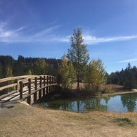 Photo taken at Cascade Ponds by Ting T. on 9/27/2017