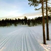 Photo taken at Bøseter Fjellandsby by Linn on 1/19/2013