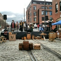 Photo taken at Fells Point by Jules H. on 4/1/2017