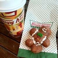 Photo taken at Krispy Kreme by Paulina U. on 11/17/2012