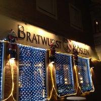 Das Foto wurde bei Bratwurst Röslein von Peter N. am 12/11/2012 aufgenommen
