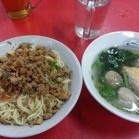 Photo taken at Es/Mie Ayam Bangka by Dafid M. on 7/11/2014
