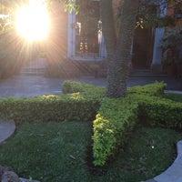 Photo taken at Hotel Los Abolengos by Axa Gozadero on 10/27/2013