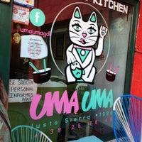 Photo taken at Uma Uma Japanese Kitchen by Axa Gozadero on 5/3/2013