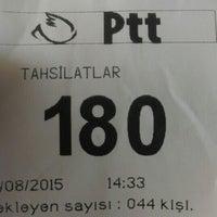 Photo taken at Ptt Adliye Şubesi by Gülbahar K. on 8/31/2015