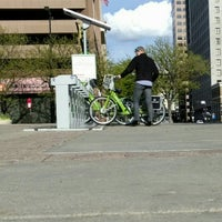 Photo taken at Salt Lake Central Greenbike Station by Andrew F. on 4/25/2016