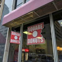 Photo taken at Square Donuts by Andrew F. on 5/4/2016