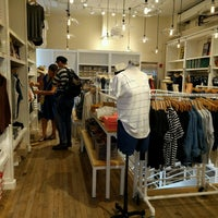 Photo taken at Madewell by Andrew F. on 7/23/2016