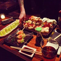 Photo taken at Ronin Sushi by Andrew F. on 3/1/2013