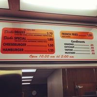 Photo taken at Dick's Drive-In by Andrew F. on 1/20/2013