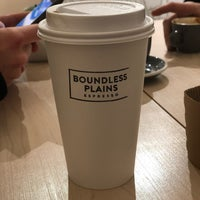 Photo prise au Boundless Plains Espresso par Andrew F. le12/27/2017