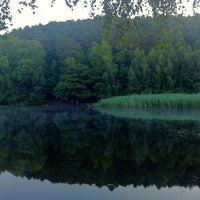 Photo taken at Billesweiher by Rebb on 7/22/2013