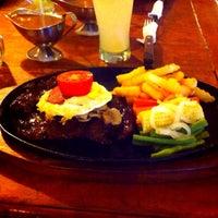 Photo taken at Pasadena Steak by Saya J. on 11/26/2015
