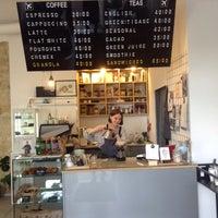 Снимок сделан в First Point Espresso Bar пользователем Yana S. 5/21/2016