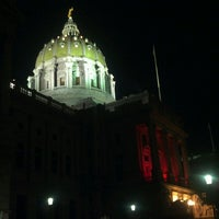 Photo taken at Pennsylvania State Capitol Building by Bobby E. on 2/25/2013