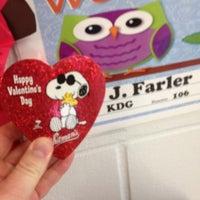 Photo taken at Loughman Oaks Elementary by Jeremy W. on 2/14/2014