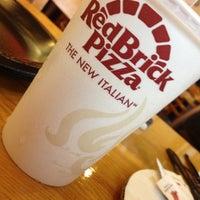 Photo taken at RedBrick Pizza by Chloe D. on 7/27/2013