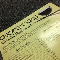 Photo taken at Chopstick Oriental Restaurant by Chloe D. on 10/26/2012