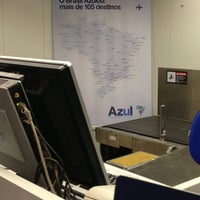 Photo taken at Check-in Azul by Lucas S. on 7/19/2013
