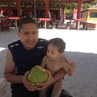 Photo taken at Praia da Costa by Tony C. on 10/23/2013