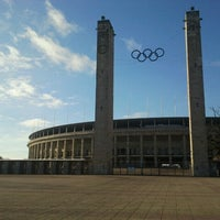Photo taken at Olympiastadion by Simon M. on 12/5/2012
