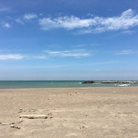 Photo taken at Presque Isle Beach 11 by Steph on 6/11/2016