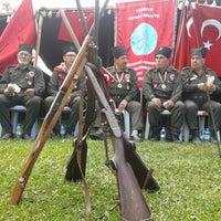 Photo taken at Karaisalı kuvayi milliye şenlikleri by birazdahauyku on 4/12/2015