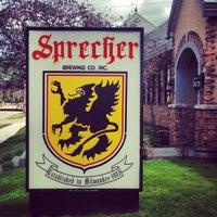 Photo taken at Sprecher Brewery by Oren A. on 5/11/2013