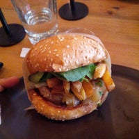 Photo taken at Roam Artisan Burgers by Emanuel H. on 6/3/2013