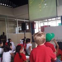 Photo taken at Instituto Cumbres Irapuato by Alva M. on 6/13/2014