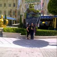 Photo taken at Shrek 4-D Adventure by Fabbian Naufal A. on 1/7/2013