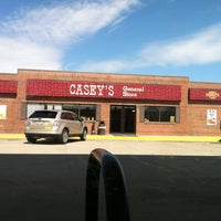 Photo taken at Casey's General Store by Brandon G. on 4/13/2013